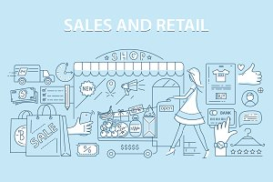 Retail commerce and shopping