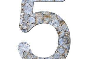Font stone wall