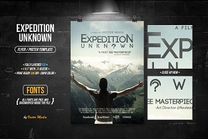 Expedition Unknown - Flyer/Poster