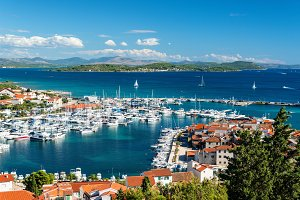 Small harbor of North Dalmatia