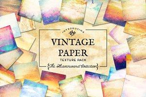 Vintage Paper Textures Heavenward