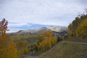 Stunning fall colors in Telluride