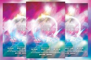 Bloom Trance Flyer