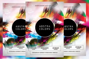 Abstra Colors Flyer
