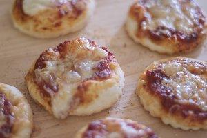 Baked Mini Pizzas 3