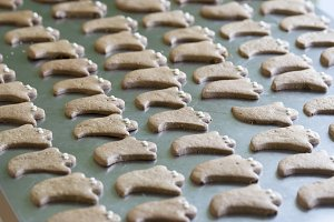 Gingerbread Ghost Cookies