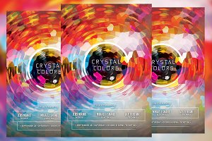 Crystal Colors Flyer