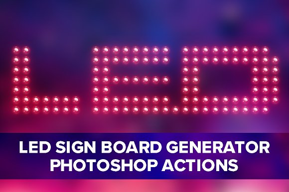 Led Sign Board Generator