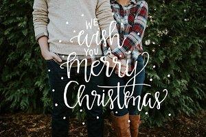 Very Merry Christmas Photo Overlays