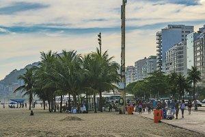 Copacabana Sidewalk Rio de Janeiro