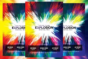 Color Club Explosion Flyer
