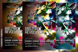 Abstract Revolution Flyer