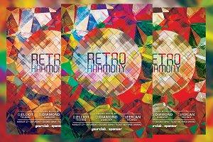 Retro Harmony Flyer