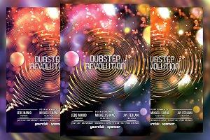 Dubstep Revolution Flyer