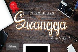 Swangga hand script