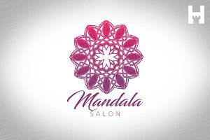 Logo Template - Mandala Salon Studio