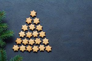 Christmas cookie tree!