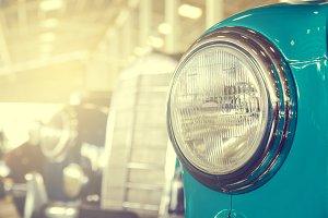 vintage head light