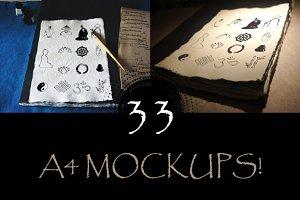 Paper Mockups!