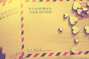 blank paper mail