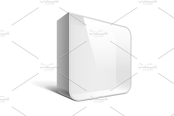Square blank lightbox