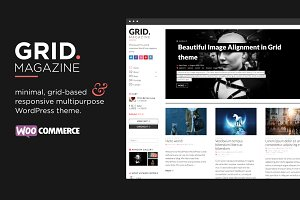 GRID - WordPress magazine & shop