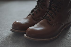 Leather Boots Modern Rustic Style