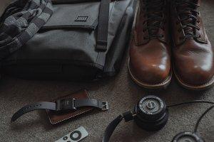 Modern, Minimalist Mens Wear