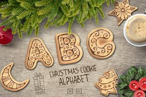 Christmas cookie alphabet vol.2