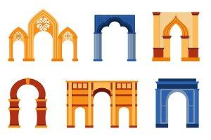 Arch vector set