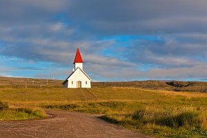 Rural Icelandic Church