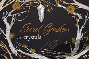 Crystals - Secret Garden set#2.