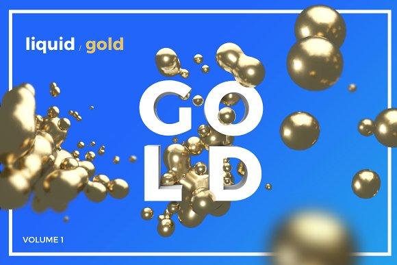20 Isolated Liquid Gold
