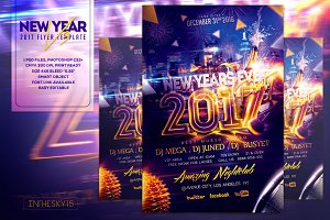 New Years Eve V3 Flyer Template