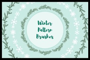 Winter Pattern Brushes