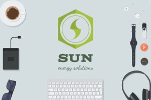 {50% OFF}Sun - Energy Solutions Logo