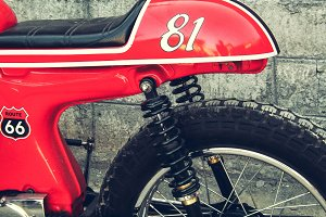 Retro Cafe Racer