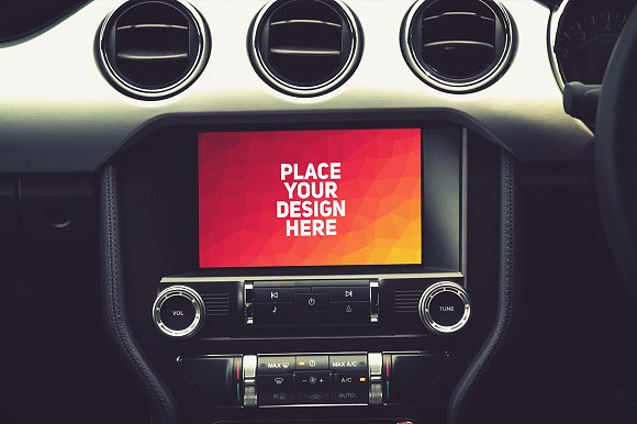 Download Auto Navigation Mock-up#4