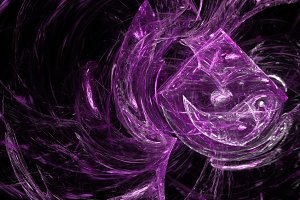 Pink crystal explosion abstract background