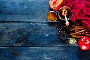 Winter warming spices