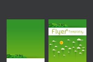 landscape Poster template