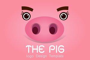 Pig logo design