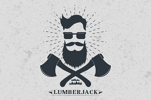 Lumberjack label