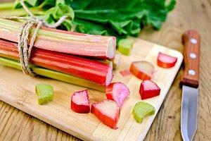 Rhubarb fresh