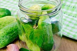 Cucumbers fresh