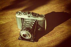 Vintage folding camera Agfa Apotar