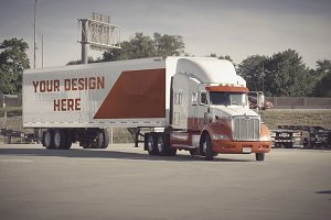 Truck/Camion Mock-up#9