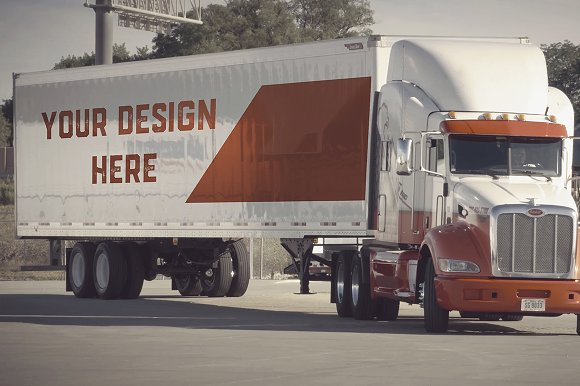 Download Truck/Camion Mock-up#10