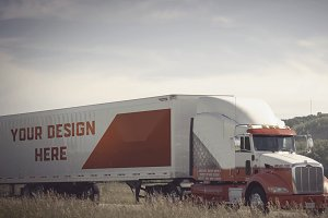 Truck/Camion Mock-up#13
