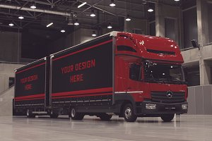 Truck/Camion Mock-up#22